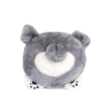 Squeakie Bun Pitbull Plush Dog Toy