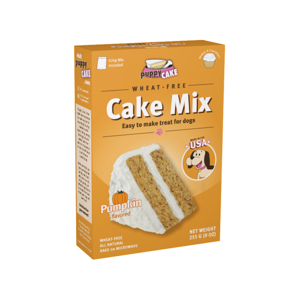 Puppy Cake Mix - Pumpkin