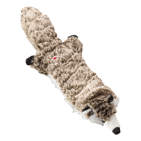 Skinneeez Extreme Quilted Raccoon Dog Toy