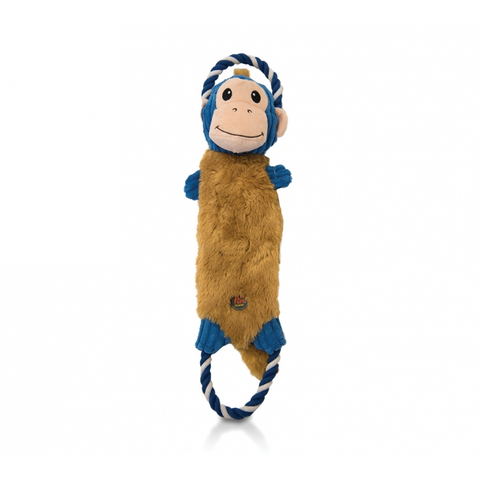 Rip Em's Plush Monkey Dog Toy