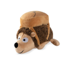 Auggie School Hedgehog Plush Dog Toy
