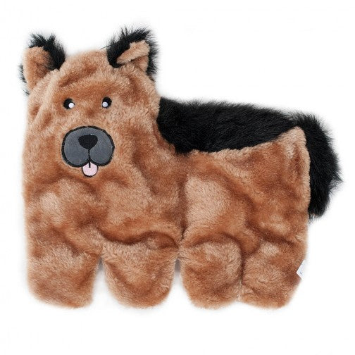Squeakie Pup Plush German Shepard - Front