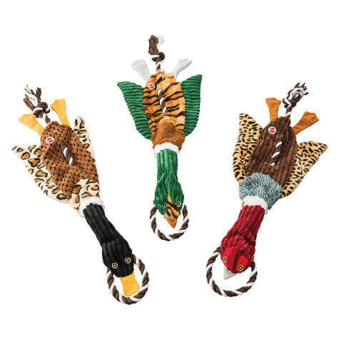 Wild Duck Rope Tug Dog Toy