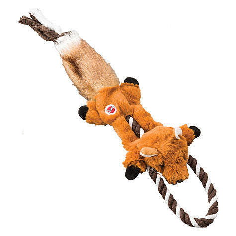 Woodland Fox Rope Tug Dog Toy