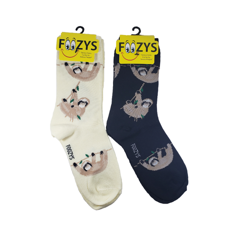 Hanging Sloth Women's Crew Socks
