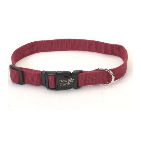 New Earth Soy Dog Collar - Cranberry