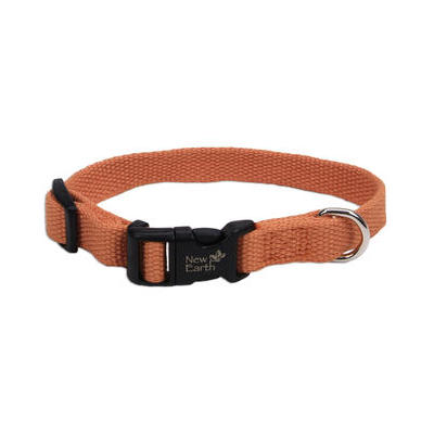 New Earth Soy Dog Collar - Pumpkin