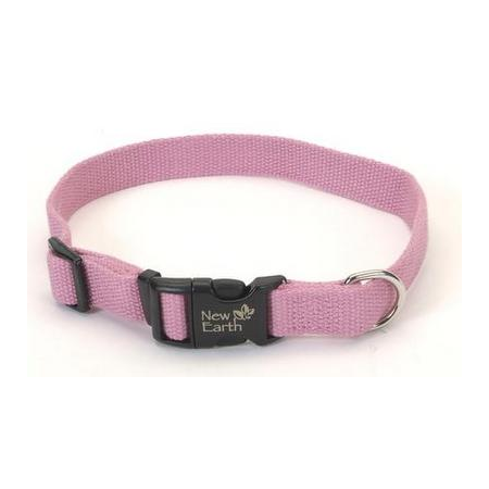 New Earth Soy Dog Collar - Rose