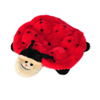 Squeakie Crawler Ladybug Plush Dog Toy