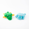 Squeakie Pad Hippo/Gator Dog Toy 2 pk
