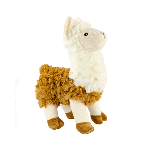Standing Tall Plush Llama Dog Toy