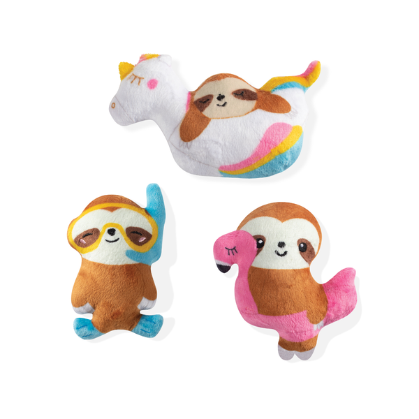 Pool Hanging Plush Sloth 3pk