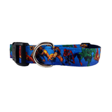 Super Heroes Dog Collar