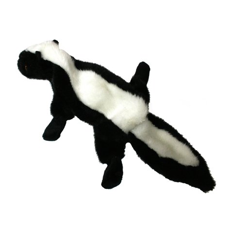 Suzie the Skunk Plush Dog Toy - Back