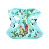 Wrap and Snap Choke Free Dog Harness - Surfboards and Palms