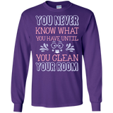 """You Never Know What You Have, Until You Clean Your Room""  T-Shirt"
