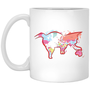 """Cat World"" Coffee Mug - CustomGrace"