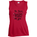 """She Leaves A Little Sparkle Whenever She Goes"" Womens T-Shirt"