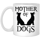 """Mother Of Dogs"" Coffee Mug(White)"