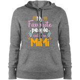 My favourite people call me Mimi Ladies' Pullover Hooded Sweatshirt