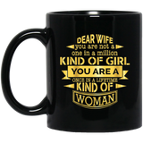 'Dear Wife you are not a one in a million..........' Coffee mug - CustomGrace