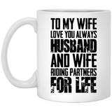 """To My Wife, Love You Always""  Coffee Mug - CustomGrace"