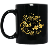 """You Are The Only Fish In The Sea For Me"" Coffee Mug - CustomGrace"
