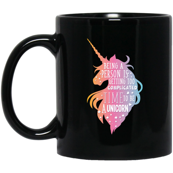 Unicorn Print Coffee Mug