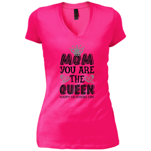 """Mom You Are The Queen"" (Black & White) Womens T-Shirt"