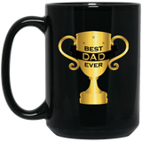 """Best Dad Ever""  Coffee Mug - CustomGrace"