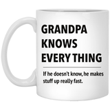 Grandpa know everything Funny Mug
