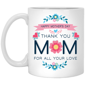 """Happy mothers day"" Coffee Mug - CustomGrace"