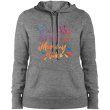 Don't Make Me Use My Mommy Voice Ladies' Pullover Hooded Sweatshirt - CustomGrace
