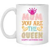 """Mom you are the Queen"" Coffee mug - CustomGrace"