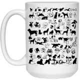 """World of Dogs""   Coffee Mug - CustomGrace"
