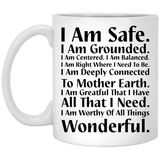 """I Am Safe"" Coffee Mug - CustomGrace"