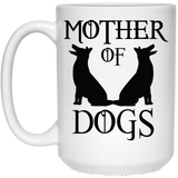 """Mother Of Dogs"" Coffee Mug(White) - CustomGrace"