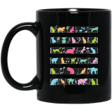 """Musical Cats""  Coffee Mug"