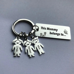 Personalized Family Name Keychain