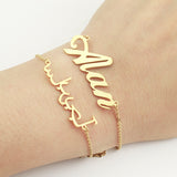 Personalized Custom Name Bracelet Charms Handmade