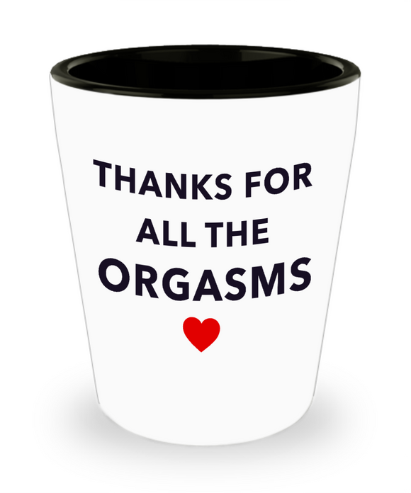 Funny Shot Glass for Valentine's Day Gift