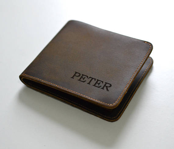 Personalized Genuine Leather Wallet