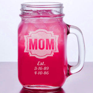 Personalized Mason Jar For MOM