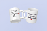Funny Valentine Couple Coffee Mugs