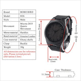 Funny Valentine's Gift - Wooden watch - CustomGrace