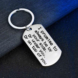 Funny Promise Keychain For Your Love - CustomGrace