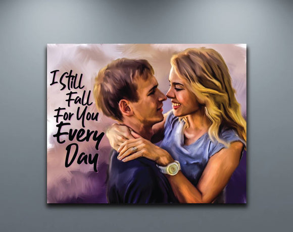 Personalized Canvas Painting Wall Art
