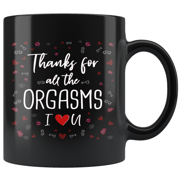 Funny Thank you Mug Valentine's Day Gift