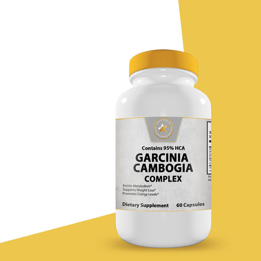 GARCINIA CAMBOGIA- 95% HCA-60 count- Shipping Included!