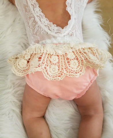 Ruffle Diaper Cover (Sold Separately)